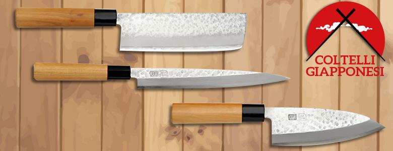 Coltelli giapponesi coltelli da cucina di qualit - Coltelli da cucina ...