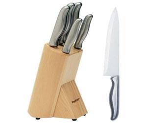set coltelli da cucina berghoff con ceppo