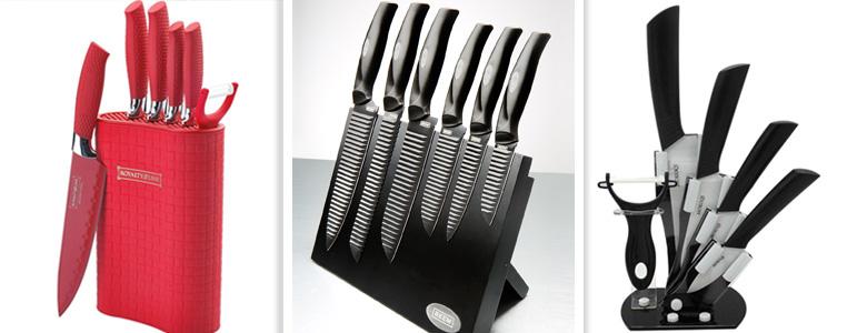Set di coltelli in ceramica come scegliere il migliore - Set di coltelli da cucina ...